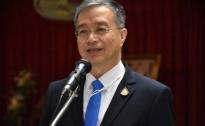 นายธนาคม จงจิระ อธิบดีกรมการปกครอง เป็นประธานในพิธีปิดการศึกษาอบรม พร้อมทั้งมอบวุฒิบัตรให้แก่ผู้ที่จบการศึกษาอบรมหลักสูตรปลัดอำเภอ รุ่นที่ 252 และรุ่นที่ 253